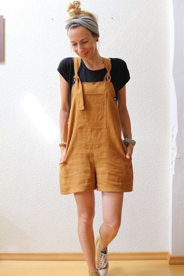 Women Dungarees & Pinafore dress sewing patterns