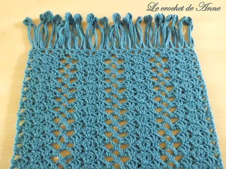 PDF CROCHET - Etole aux jolis points fantaisies !