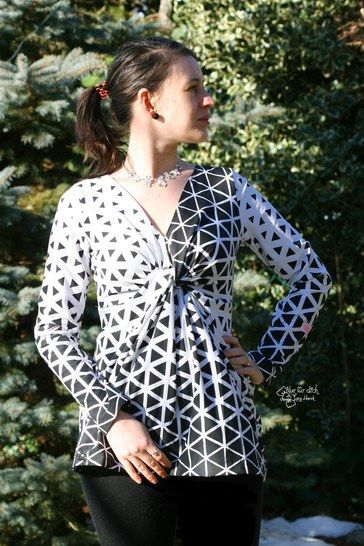 Twisted Dress Schnittmuster & Anleitung by Sewera
