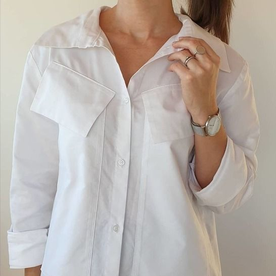 THE EMBLEMATIC SHIRT sewing pattern PDF version