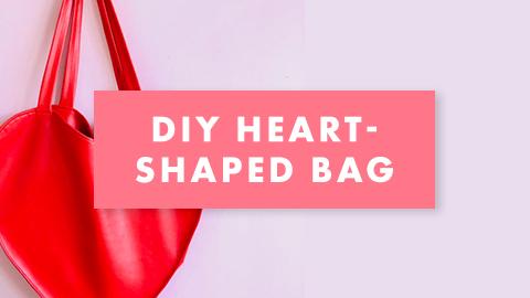 Tuto diy saint valentin le sac coeur
