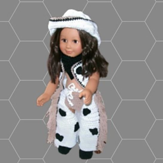 Crochet Doll Clothes Pattern, Doll Clothes Pattern