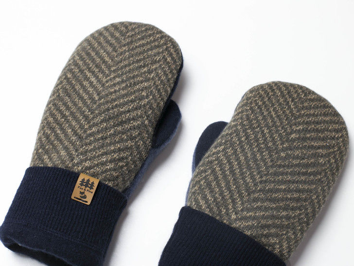 Men Sweater Mittens Sewing Pattern Upcycled Wool Jumpers