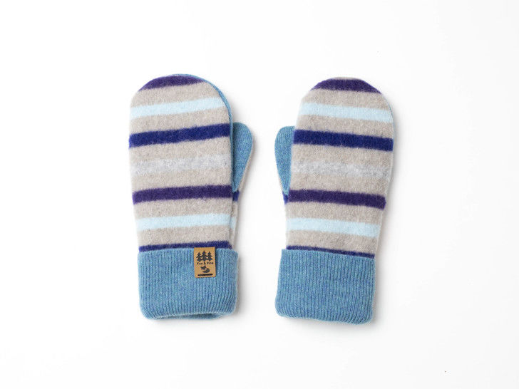 Children Sweater Mittens Sewing Pattern Wool Jumpers