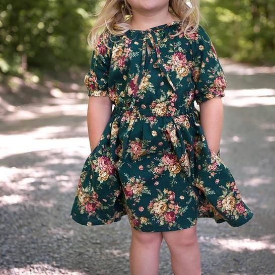 Driftwood Blouse + Dress - Child Sizes