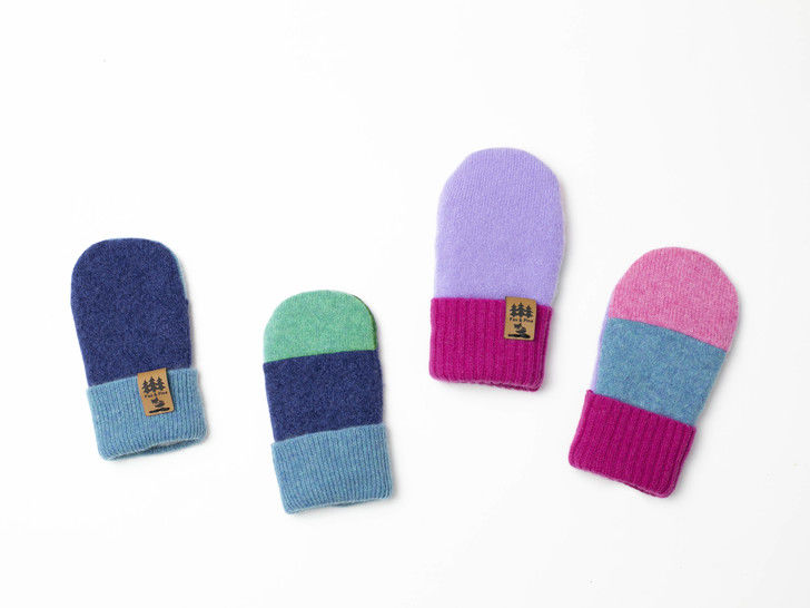 Baby Thumbless Sweater Mittens Sewing Newborn