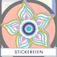 Stickereien