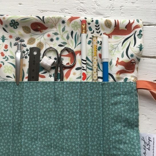 Pencil case - English pattern