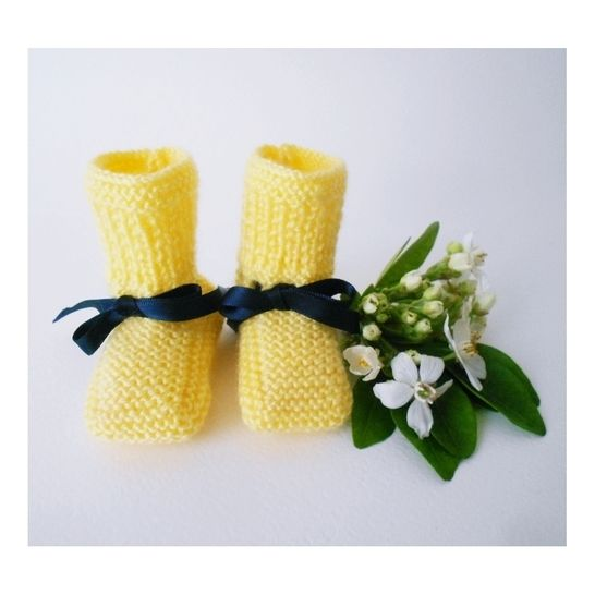 Chaussons bouton d'or