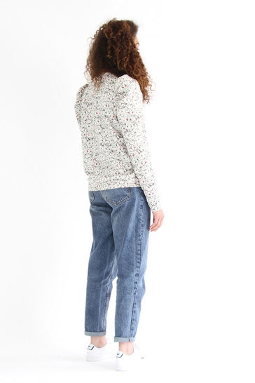 2 FOR 1 - Lion and Zèbre - puffy sleeves sweatshirt