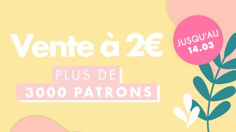 Patrons et tutoriels à 2€