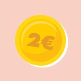 Vente à 2€