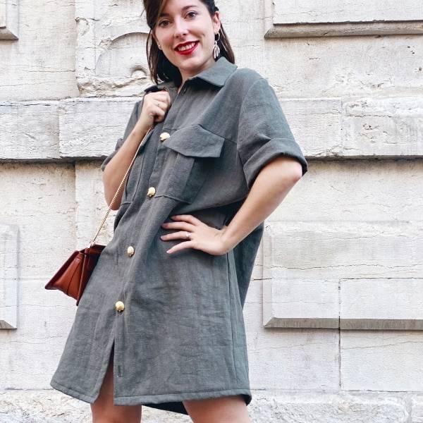 Patron de couture robe femme intermédiaire
