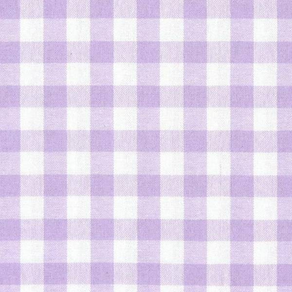 Tissu en coton vichy