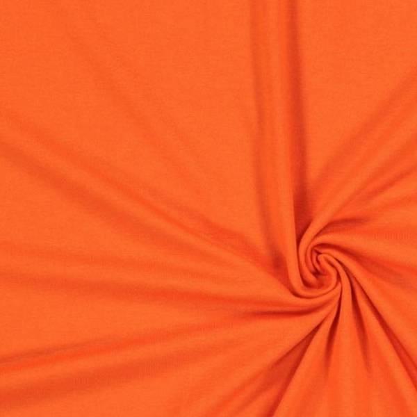 Jersey viscose léger orange
