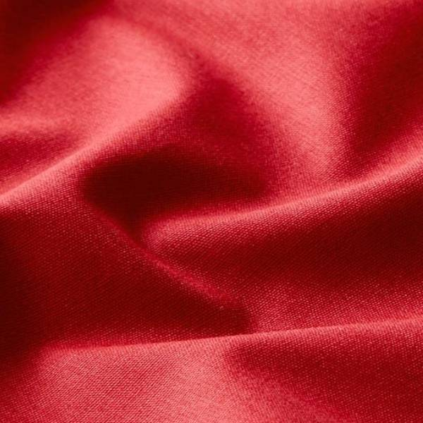 Tissu popeline coton couleur framboise
