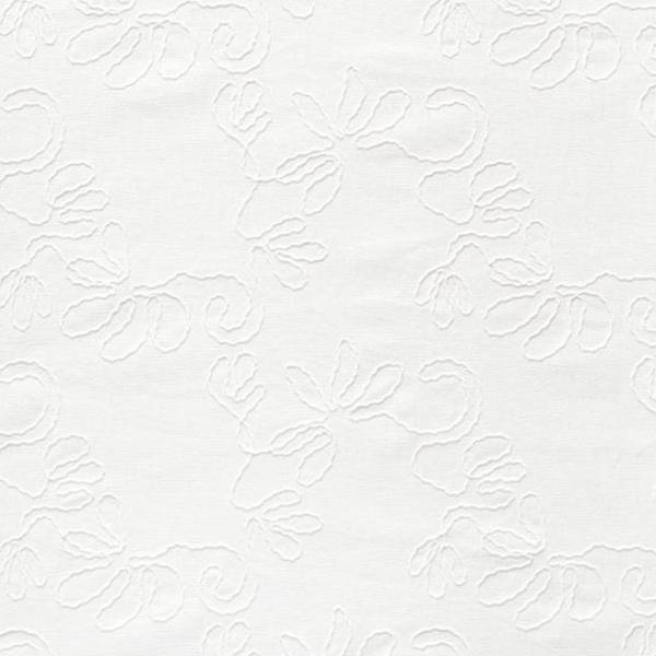 tissu mélange lin viscose fleuri