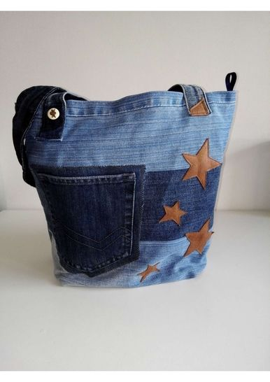 Totebag simple avec coutures anglaises