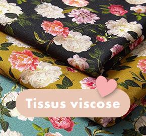 Tissus viscose