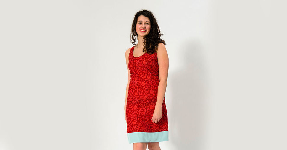 Dress ADA / Sewing Pattern n XS - 3XL