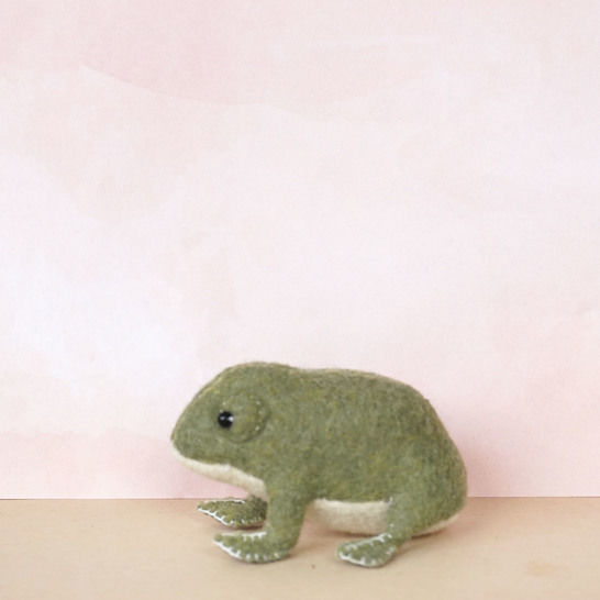 Edward the Frog Prince Sewing Pattern