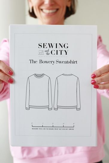 The Bowery Sweatshirt PDF Pattern