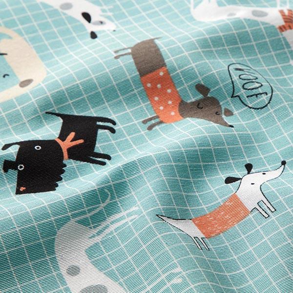 Dekostoff Canvas Hundebande
