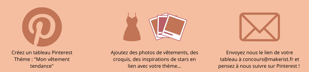 Participez sur Pinterest