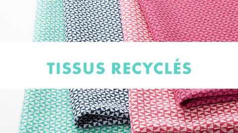 Tissus recyclés