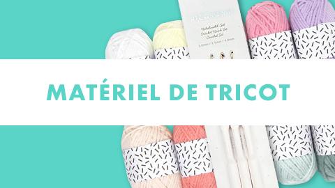 matériel tricot