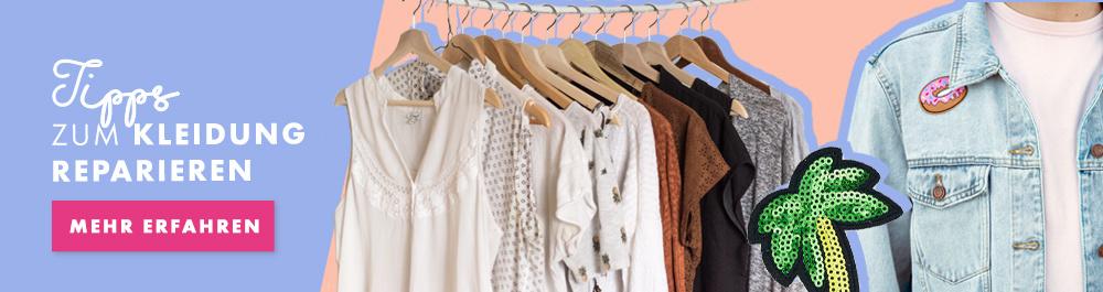 Tipps zum Kleidung reparieren
