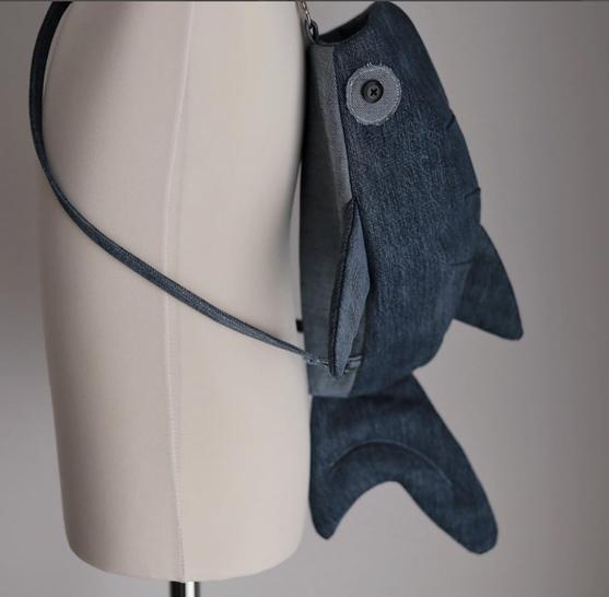 Whale shark bag