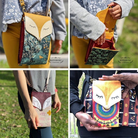 Little Foksa – small bag and smartphone wallet