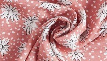 Tissu viscose Marguerite