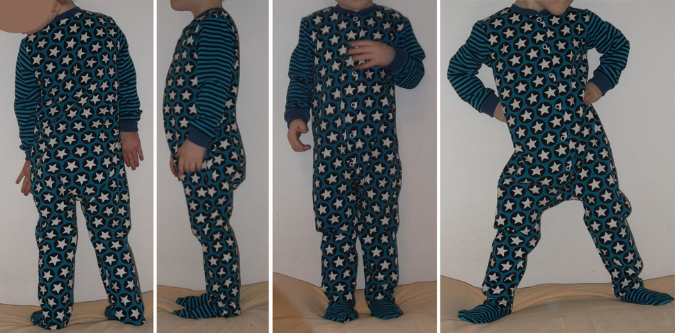 """Coverall Romper """"Heinrich"""" - 0-5T (50-110) pattern projector"""