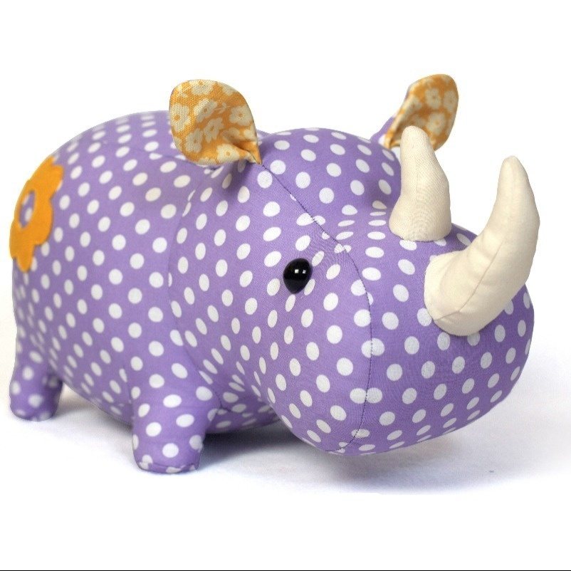 Peluche Rhino