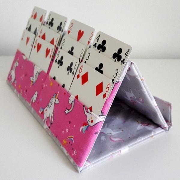 Support pliable jeu de cartes