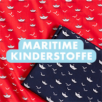 Maritime Kinderstoffe