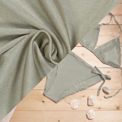 Tissu pour maillot de bain beige