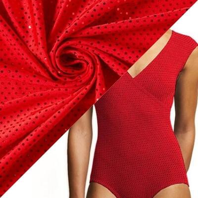 Tissu pour maillot de bain fleurs d'hibiscus