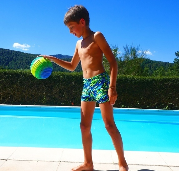 LARGO swimsuit for boys 2-16 years PDF sewing pattern