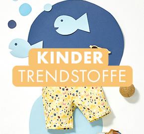 Kinder Trendstoffe