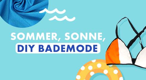 Sommer, Sonne, DIY Bademode