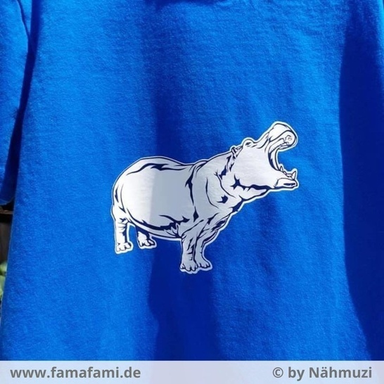 """CUTTING FILE """"HIPPO"""" - SVG DXF PNG - FAMAFAMI"""