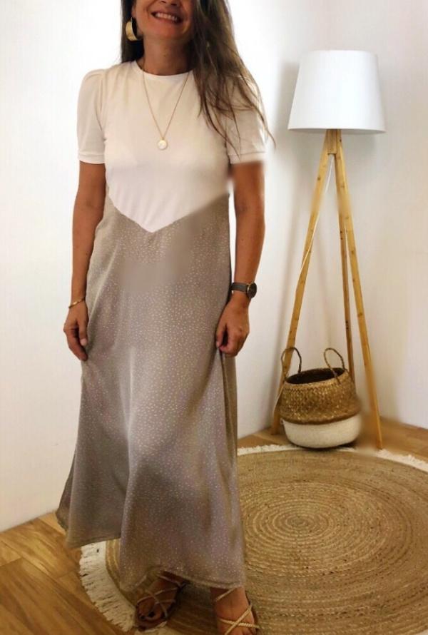 Patron robe longue Nina - Couture robe d'été