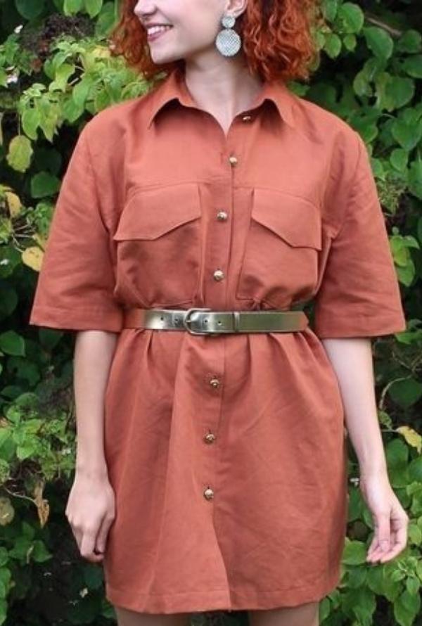 Patron Baroudeuse - Couture robe d'été