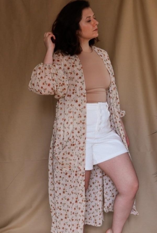 Patron Kimono Leticia - Couture robe d'été