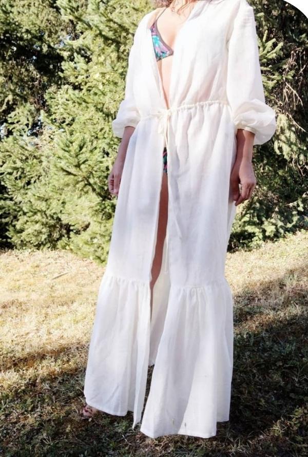 Patron Robe Kimono Eprise Boho - Couture robe d'été