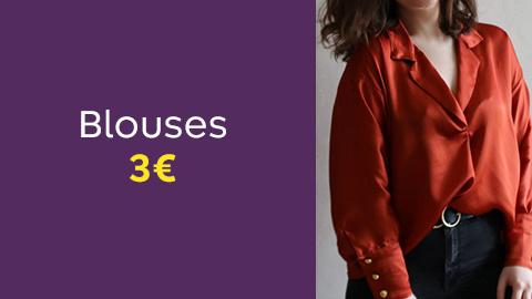 Patrons de blouses et chemises à 3€