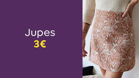 Patrons de jupes à 3€